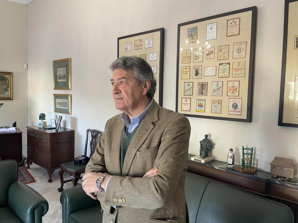 Presidente del Consejo Regulador, César Saldaña